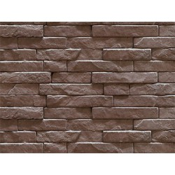 Strip stone wandtegel - Taupe