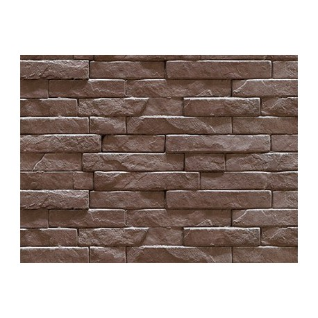 Soft tile Strip stone taupé