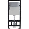 Concealed Cistern with Dual fush buttom