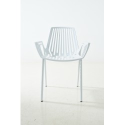 Aluminium dining chair