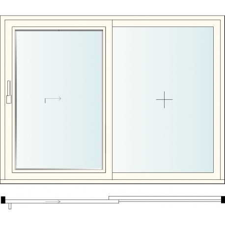 II F LIFTING SLIDING WINDOW + FIXED WINDOW