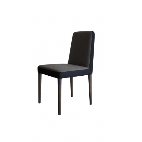 Dining Chair, with fabric cover and oak base
