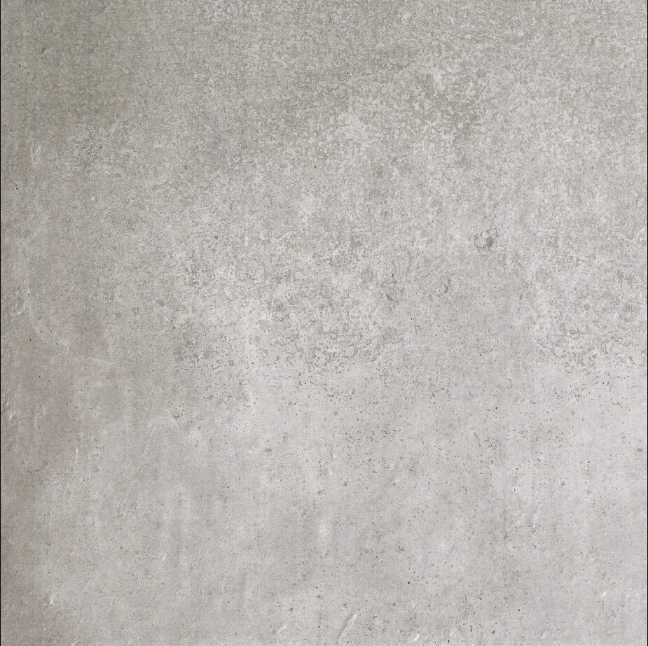Cement rough grey tegel 60x60cm for Tegel pvc imitatie tegel cement