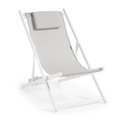 INFLUENCE strandstoel beige - Set van 4